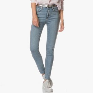 Rag & Bone High Rise Skinny Light Wash Liho w/PT